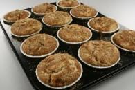 Æble og kanel muffins