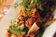 Asiatisk kyllingesalat