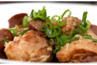 Chicken gumbo m. krydret pølse