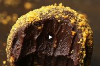 Ingefær chokolade trøffel